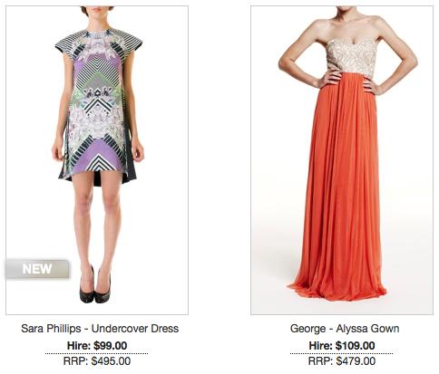 GlamCorner Online Designer Dress Hire - MELBOURNE GIRL | N ...