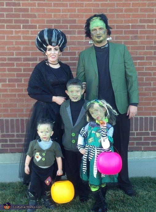 Frankenstein Family - Halloween Costume Contest at Costume-Works - halloween costume ideas for family