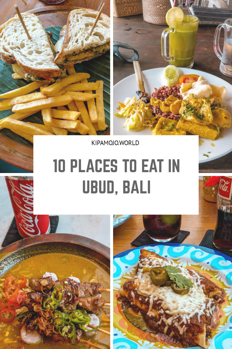 Where to eat in Ubud, Bali Reviewing 10 places to eat in