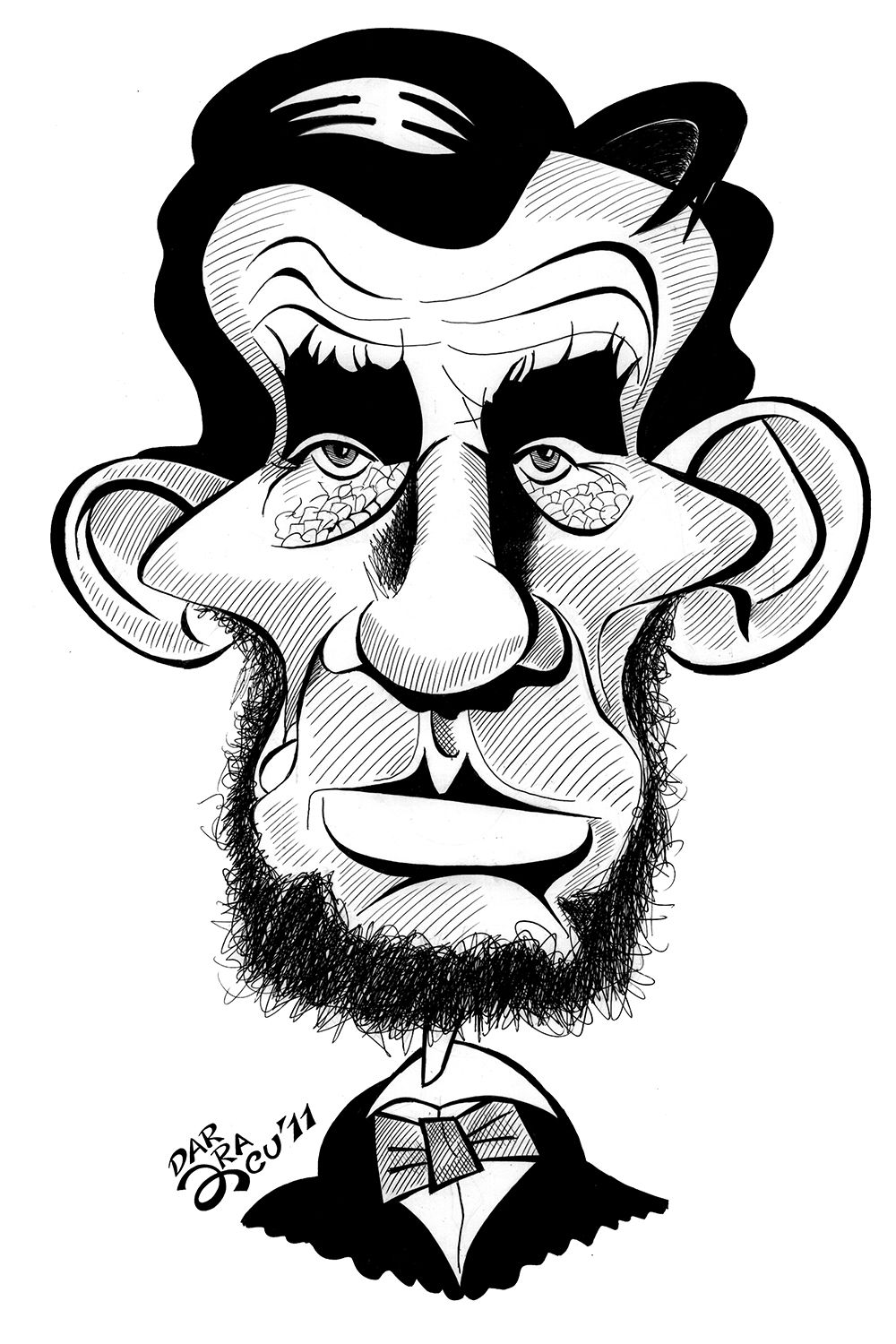 Caricature Of Lincoln Abraham Lincoln Pinterest Caricature