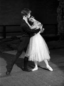 Rudolf Nureyev and Margot Fonteyn During Rehearsals at the Royal Ballet