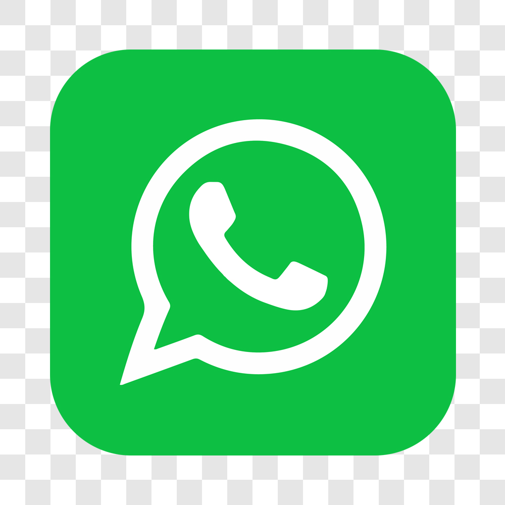 WhatsApp Logo Quadrado Ícone PNG Sem Fundo [download] - Designi | Desenho whatsapp, Icon png, Símbolo do instagram