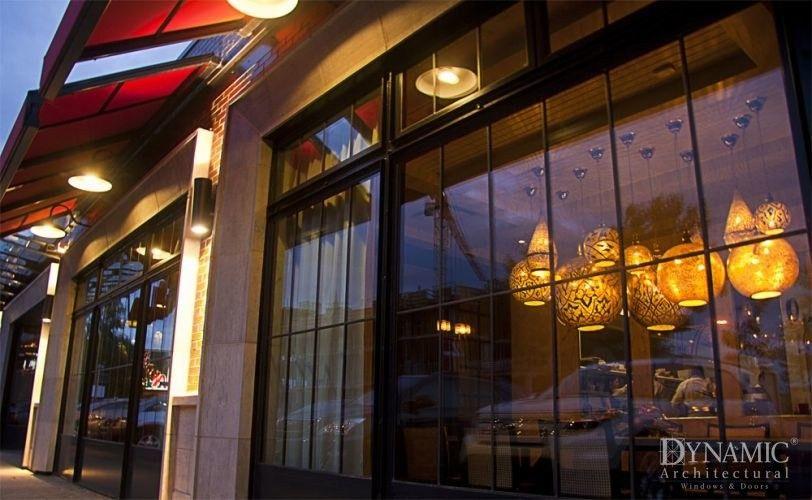 Aberdeen Market Candela Lounge Storefront Window Store Fronts Storefront Design Architecture
