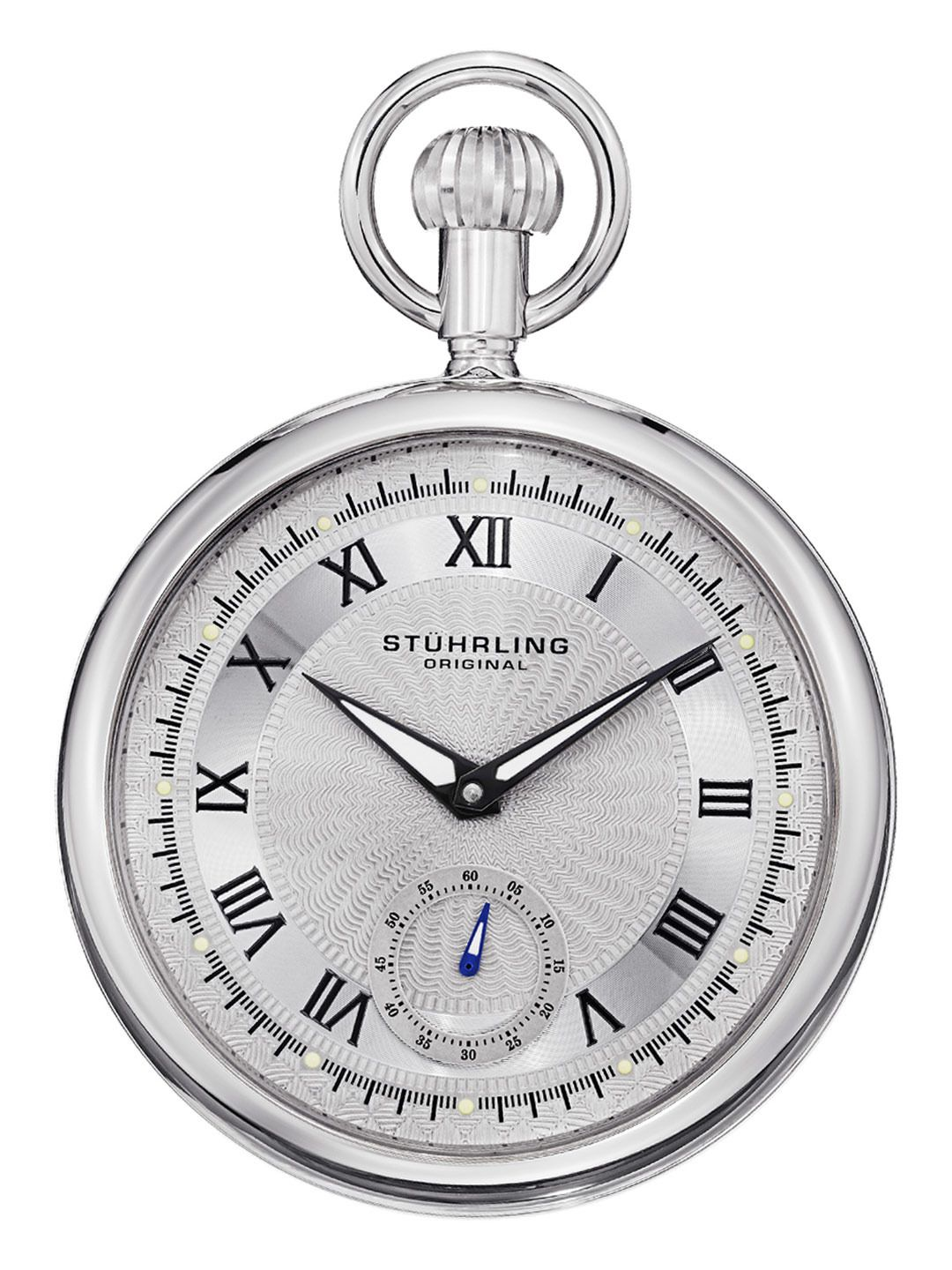 cb1388bc1 Mens Silver Pocket Watch by Stuhrling Original at Gilt   Accessories ...