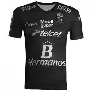 Club Leon FC Third 16-17 Season Black Soccer Jersey  I42   14f1836ee
