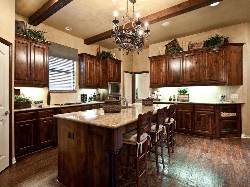 Best Nice Kitchen Love The Dark Wood Gallery Shaddock Homes 400 x 300