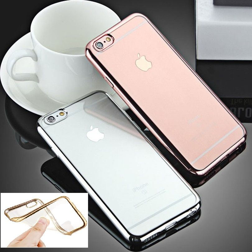 Fashion Luxury High Quality Plating Design Cover Case For IPhone 5 SE 5S 6 6S Plus