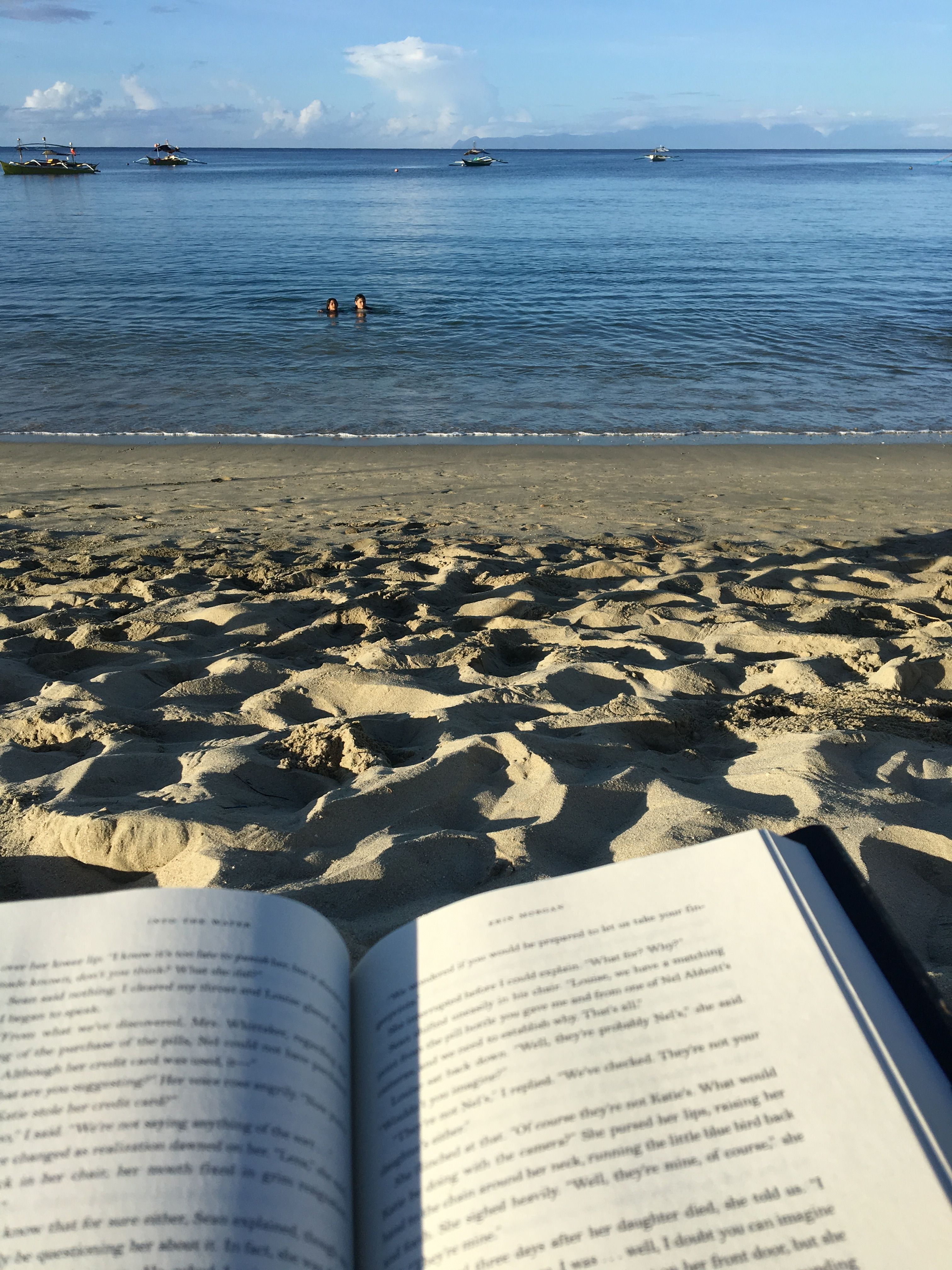 Book by the beach, beach and books, bookstagram   Sea photography