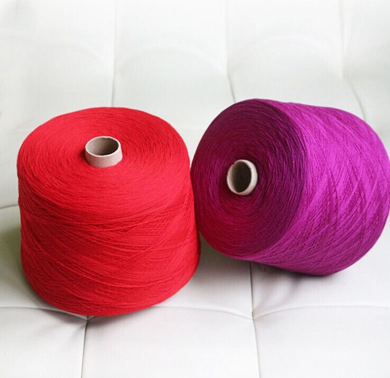 100% cashmere yarn for knitting 21s/2 full colors hand machine