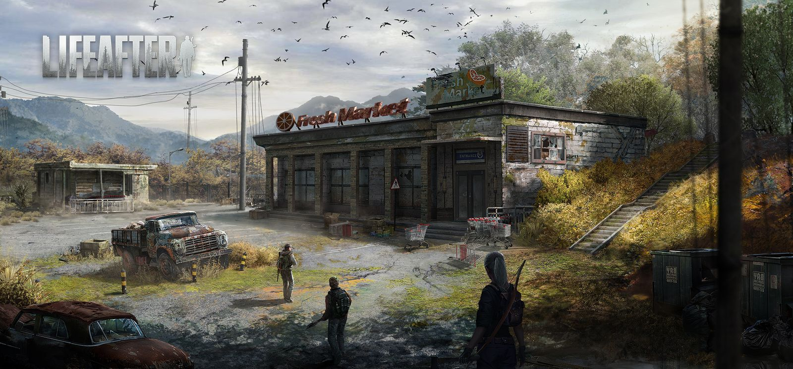 Multiplayer Zombie Survival Game LifeAfter Branches Out To