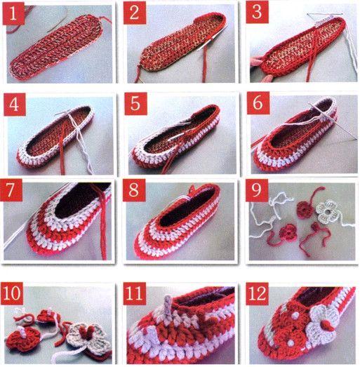 sapatos-de-croche-passo-a-passo-como-fazer.jpg (513×523)