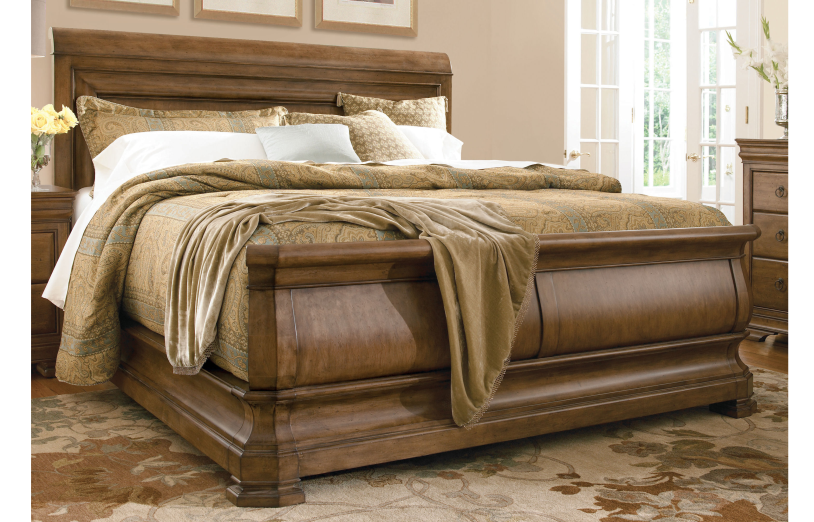 Amazing The Pennsylvania House New Lou Louie Pu0027s Sleigh Bed Revives And Refreshes  Century Louis Philippe Style, And Is Crafted Of Beautiful Alder. Shop Now.