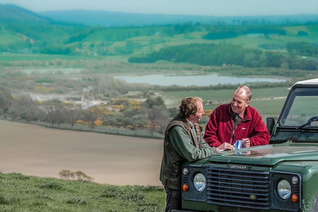 #farmers at #ingram valley #northumberland #borders #landrover #landroverdefender #rural #management #photographer by chp_photo #farmers at #ingram valley #northumberland #borders #landrover #landroverdefender #rural #management #photographer