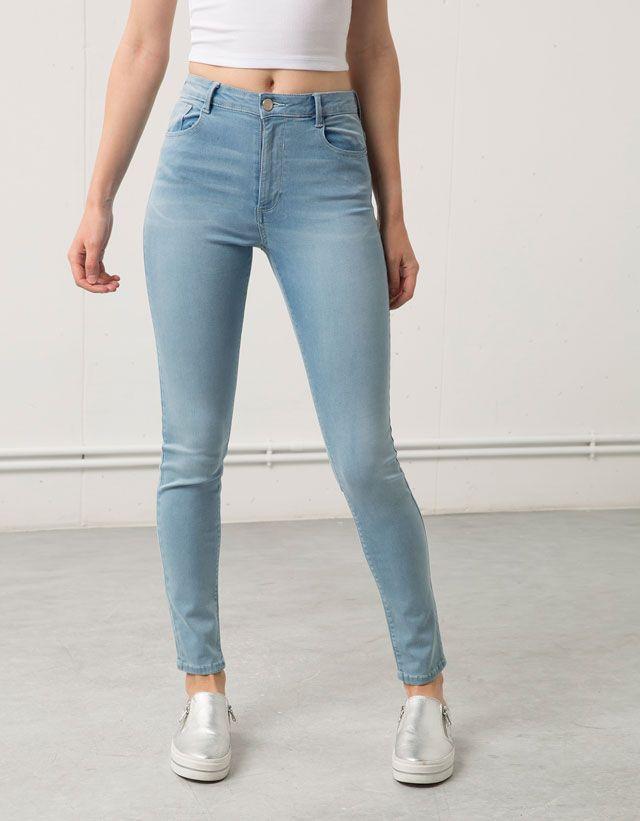 Jeans Bershka Chica Bershka Espana Pantalones Bershka Mujer Pantalones De Mezclilla Mujer Pantalones De Moda
