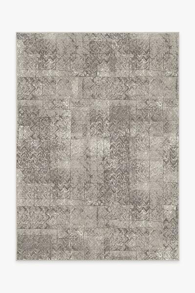 Herringbone Batik Ash Grey Rug In 2019 Washable Area