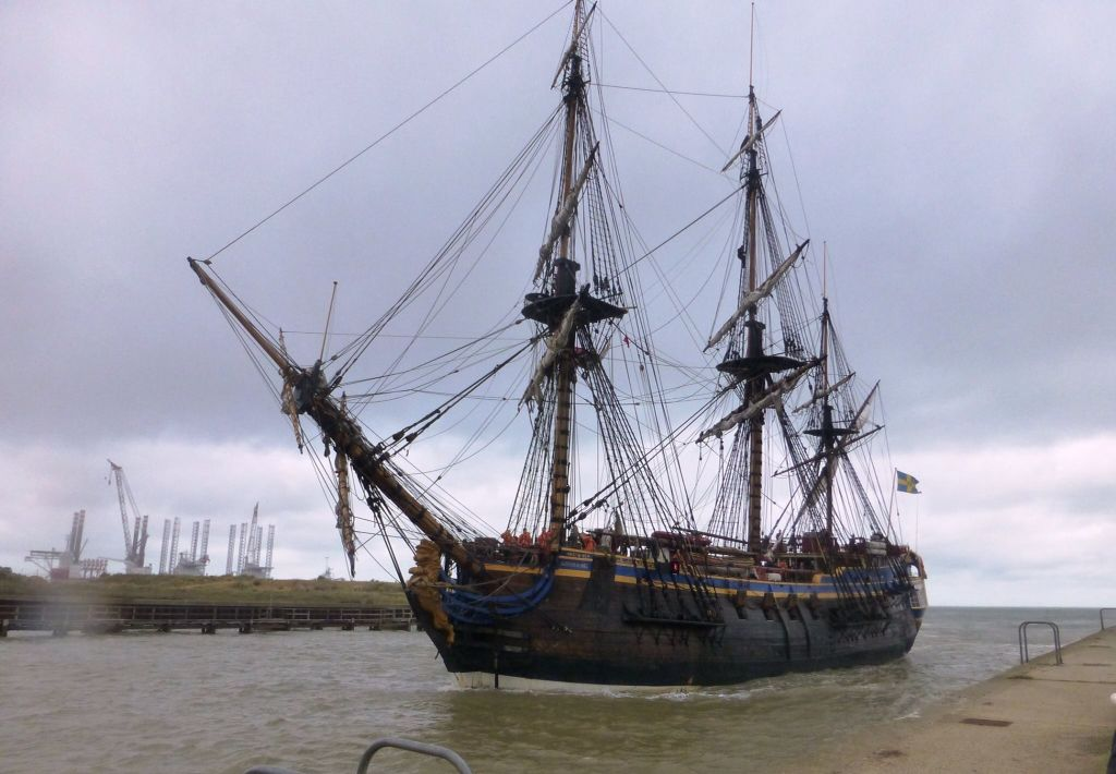 Tall ships, Gt Yarmouth 2015.