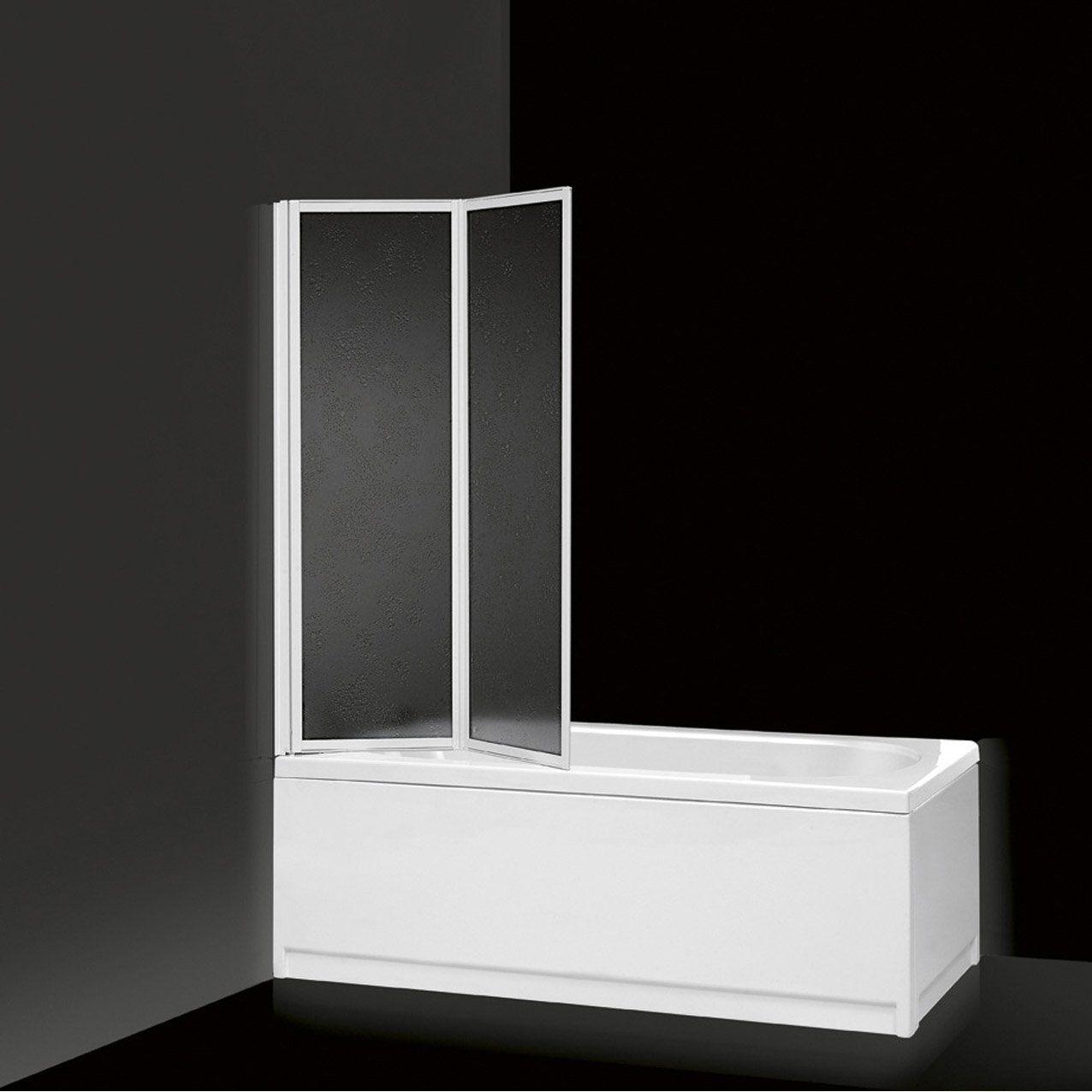 pare baignoire 2 volets g02 acrylique blueaqua leroy. Black Bedroom Furniture Sets. Home Design Ideas