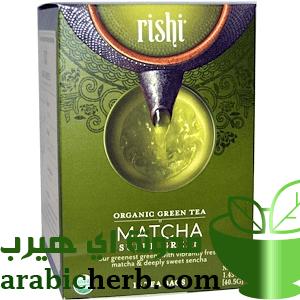 شاي اخضر ماتشا ياباني عضوي من اي هيرب مدونة اي هيرب بالعربي Organic Green Tea Rishi Tea Green Tea