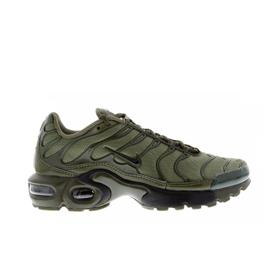 Brand new, authentic, pair of Nike Tuned 'Olive' US sizing