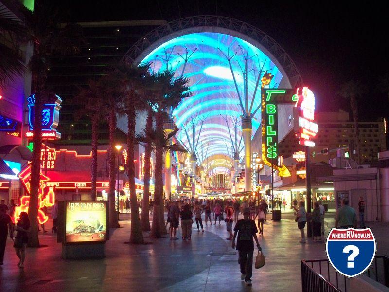 Main Street Rv Park Downtown Las Vegas Downtown Las Vegas Las Vegas Rv Nevada Travel