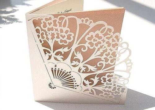Картинки, ажурно вырезанные открытки