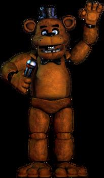 Fnaf Freddy Transparent