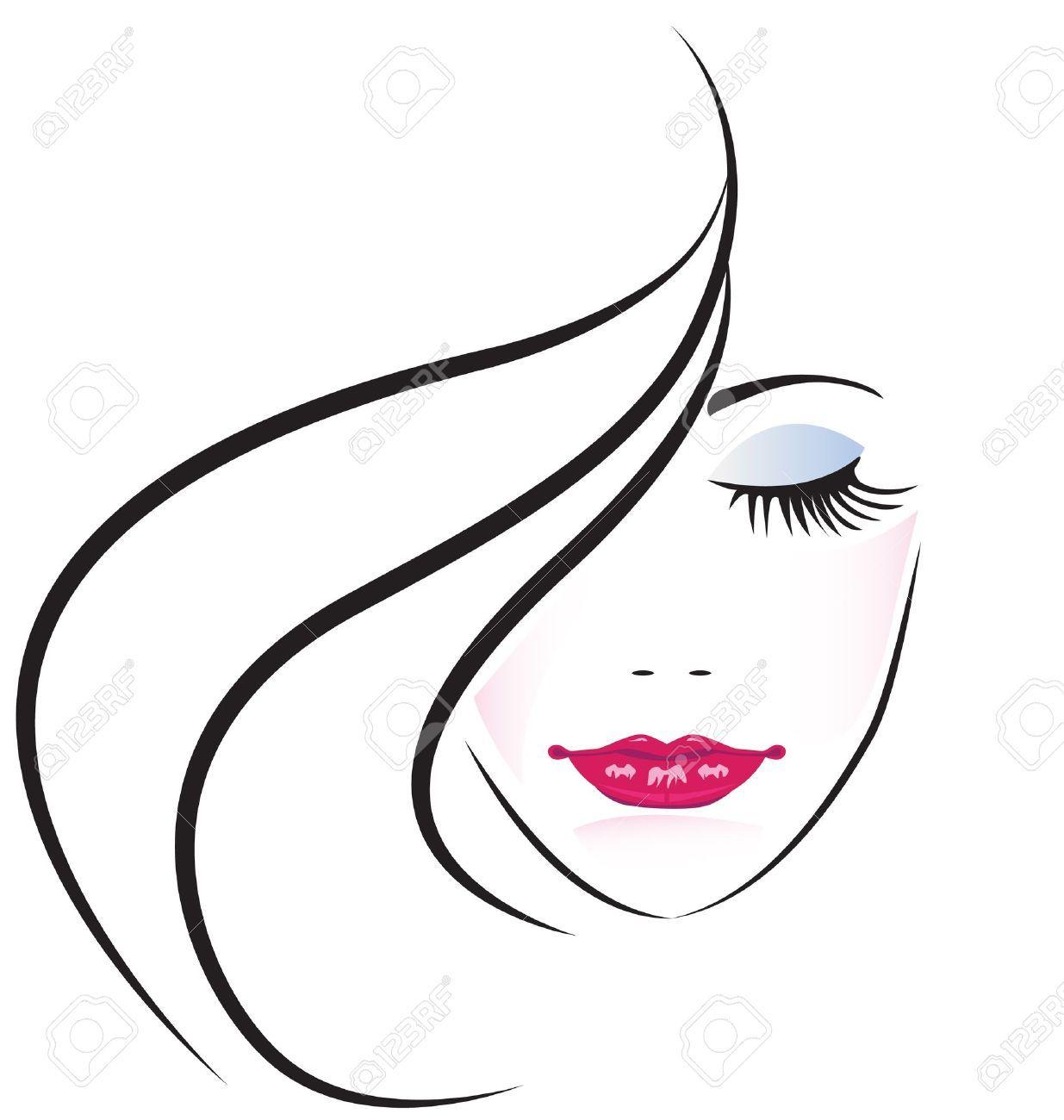 Rostro De Mujer Bonita Silueta Silueta De Mujer Rostro De Mujer Dibujo Silueta De Mujer Dibujo