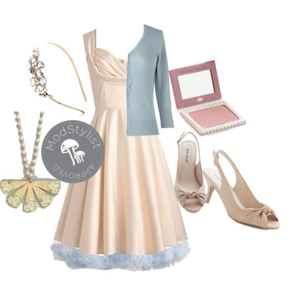 Wedding season is in full swing. Add some volume to your frock with a petticoat in your favorite shade of blue.     Do you love #Polyvore? Would you like to be #ModStyled? Pop in and say 'hi' to us here: http://www.modcloth.com/modstylists