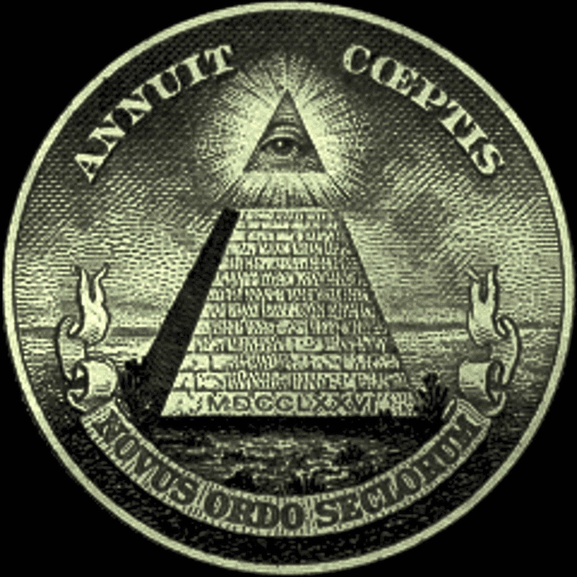 All On The Illuminati: On The Back Of The Dollar Bill Is A Symbol Of The All