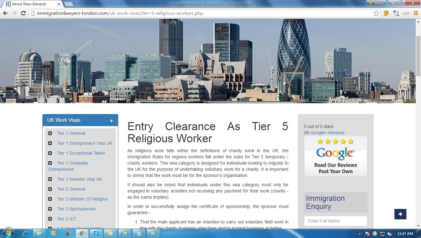 Pin on Immigration Lawyers London