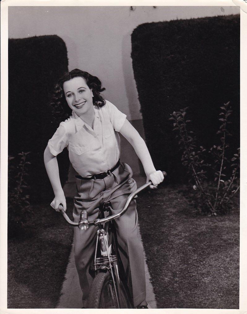 Hedy lamarr hedy lamarr hollywood bike ride