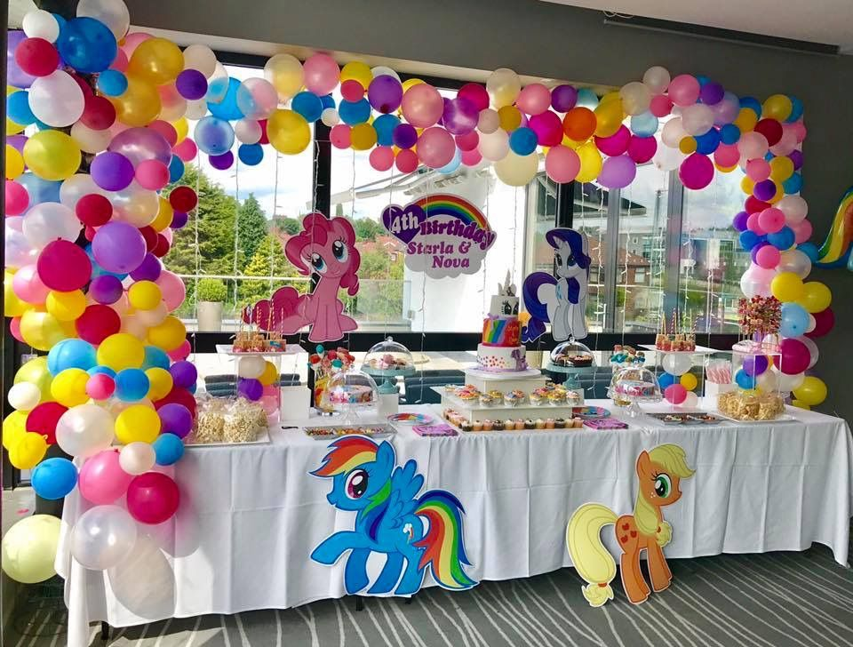My Little Pony Birthday Party With Images My Little Pony