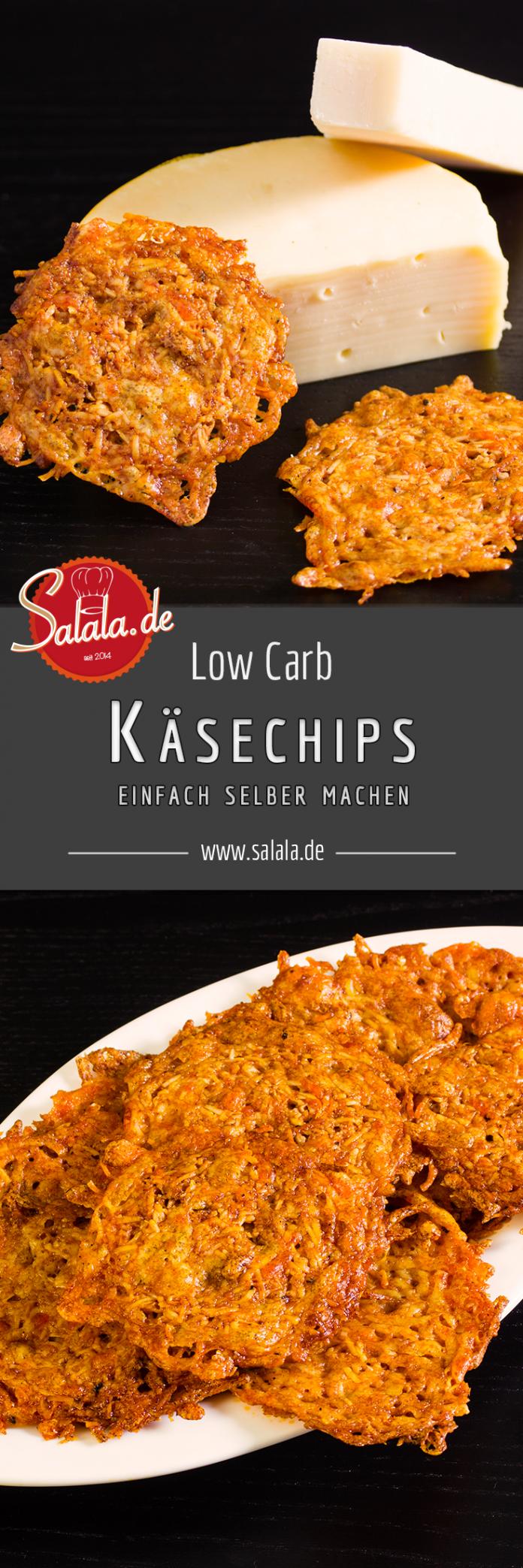 Käsechips / Käsecracker - Low Carb glutenfrei | salala.de – Low Carb leicht gemacht