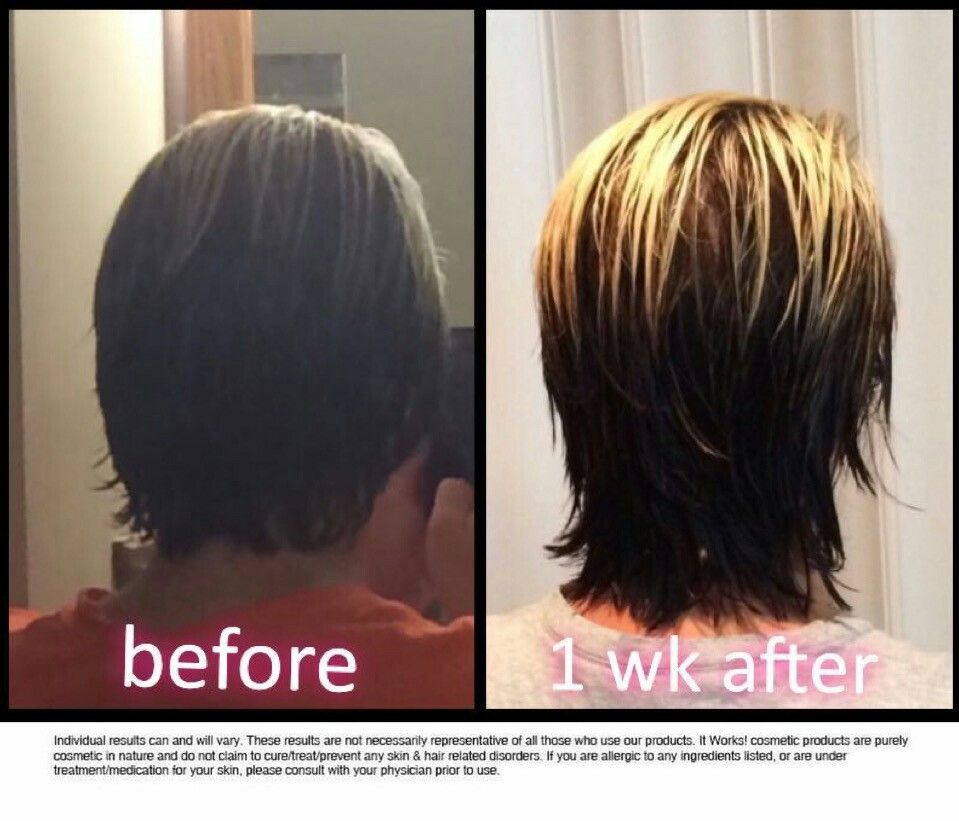 It Works Hair Skin Nails results in just a week....www ...