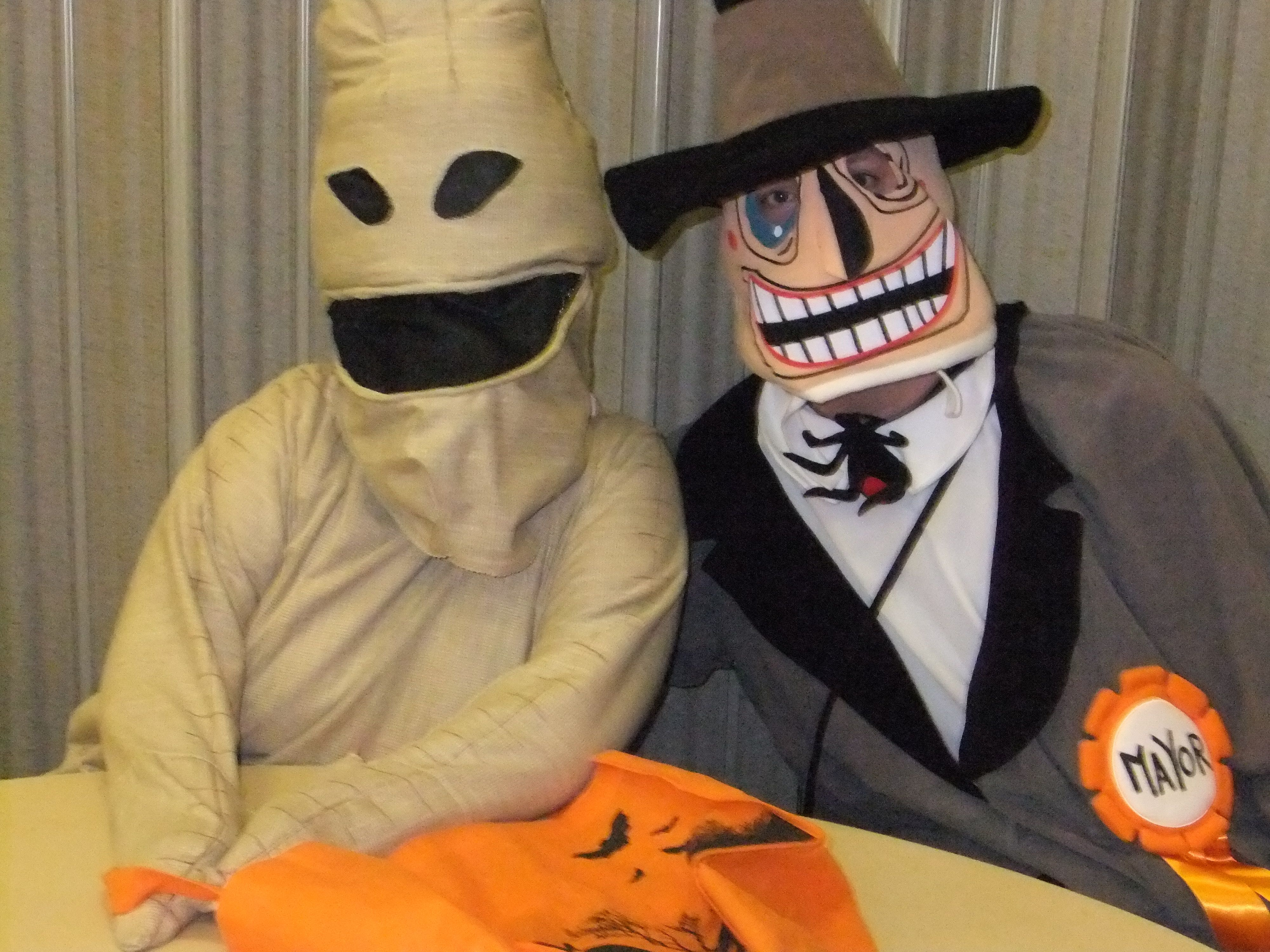 Oogie Boogie and The Mayor by ThimbeLinda and TallDave