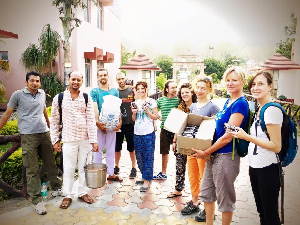 Meditation Teacher Training in Rishikesh,India - A day of ...