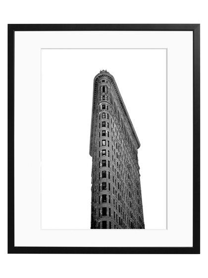 The Flatiron By Day (Framed) by Sonic Editions at Gilt