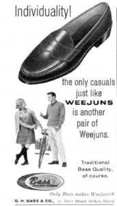 15409aa6efb 1963 Bass Weejun Ad