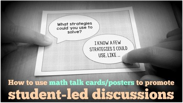 , How to use math talk cards/posters to promote student-led discussions, Hot Models Blog 2020, Hot Models Blog 2020