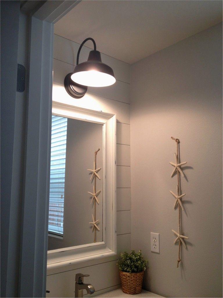 40 Beautiful Farmhouse Bathroom Lighting Ideas That Will Make Your