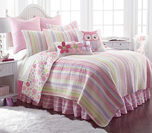 Kids' Quilt Sets - Merrill Girl Twin Quilt Set >>> See this great ... : kids twin quilts - Adamdwight.com