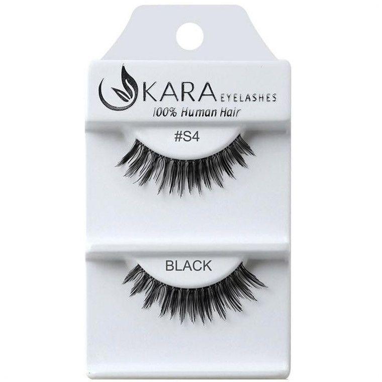 Kara Beauty Human Hair Eyelashes #S4