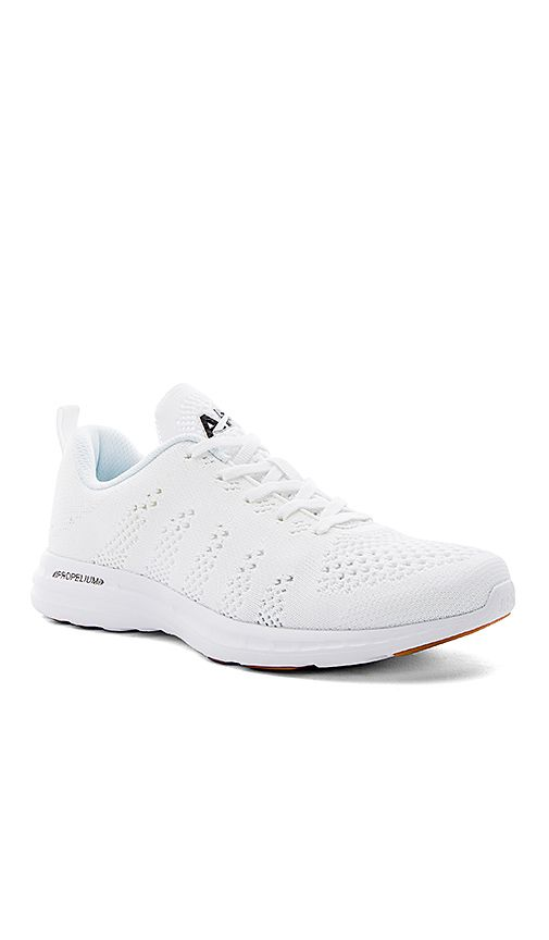 9b8c786dd Shop for Athletic Propulsion Labs: APL Techloom Pro Sneaker in White, Black  & Gum at REVOLVE. Free 2-3 day shipping and returns, 30 day price match ...