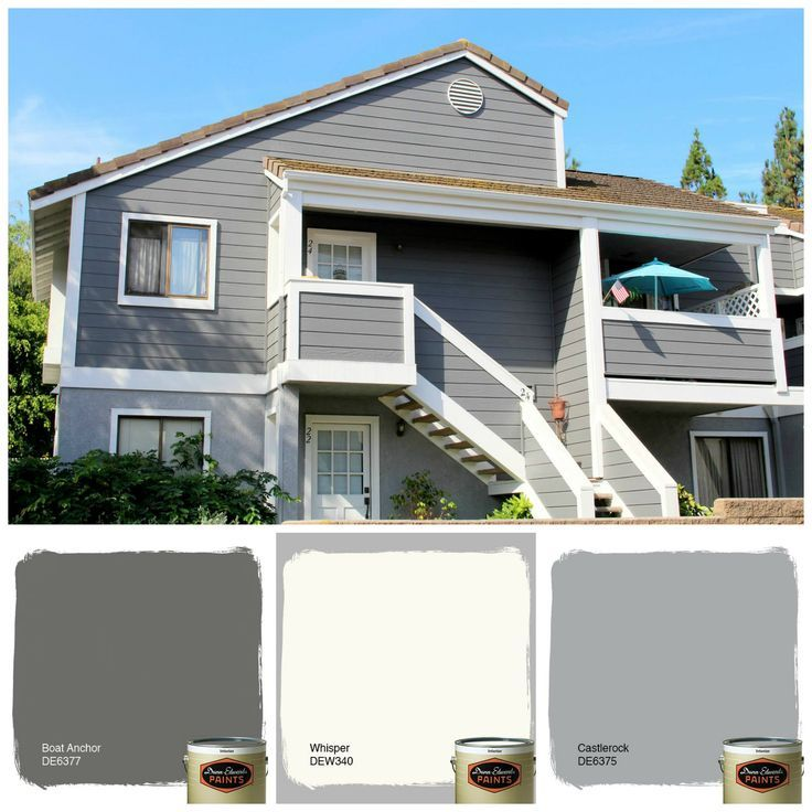 Image result for dunn edwards castlerock | Exterior home paint ...