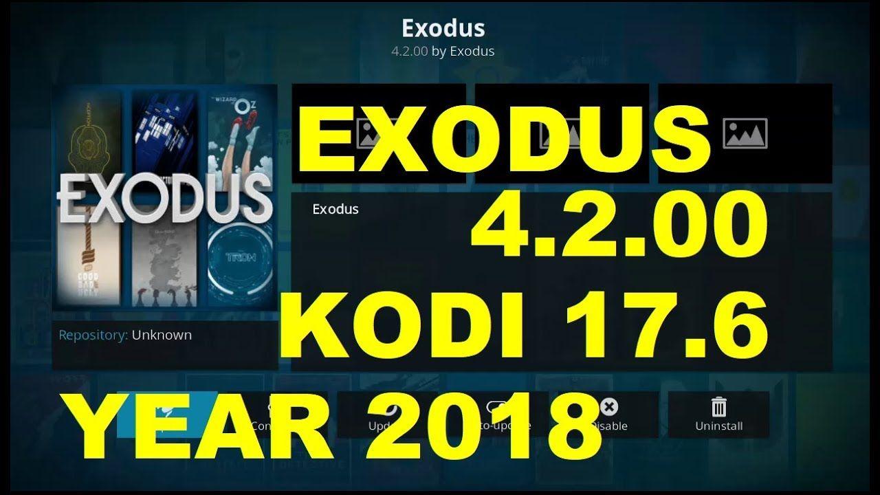 how to install exodus on android kodi 17.6