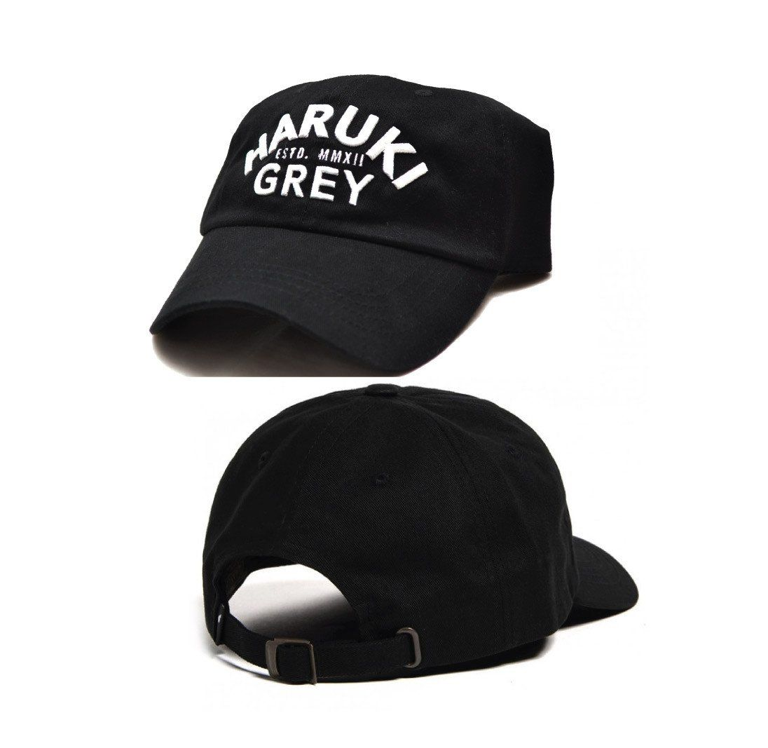 Haruki Grey Dad Hat Strapback Dad Hats Hats Grey