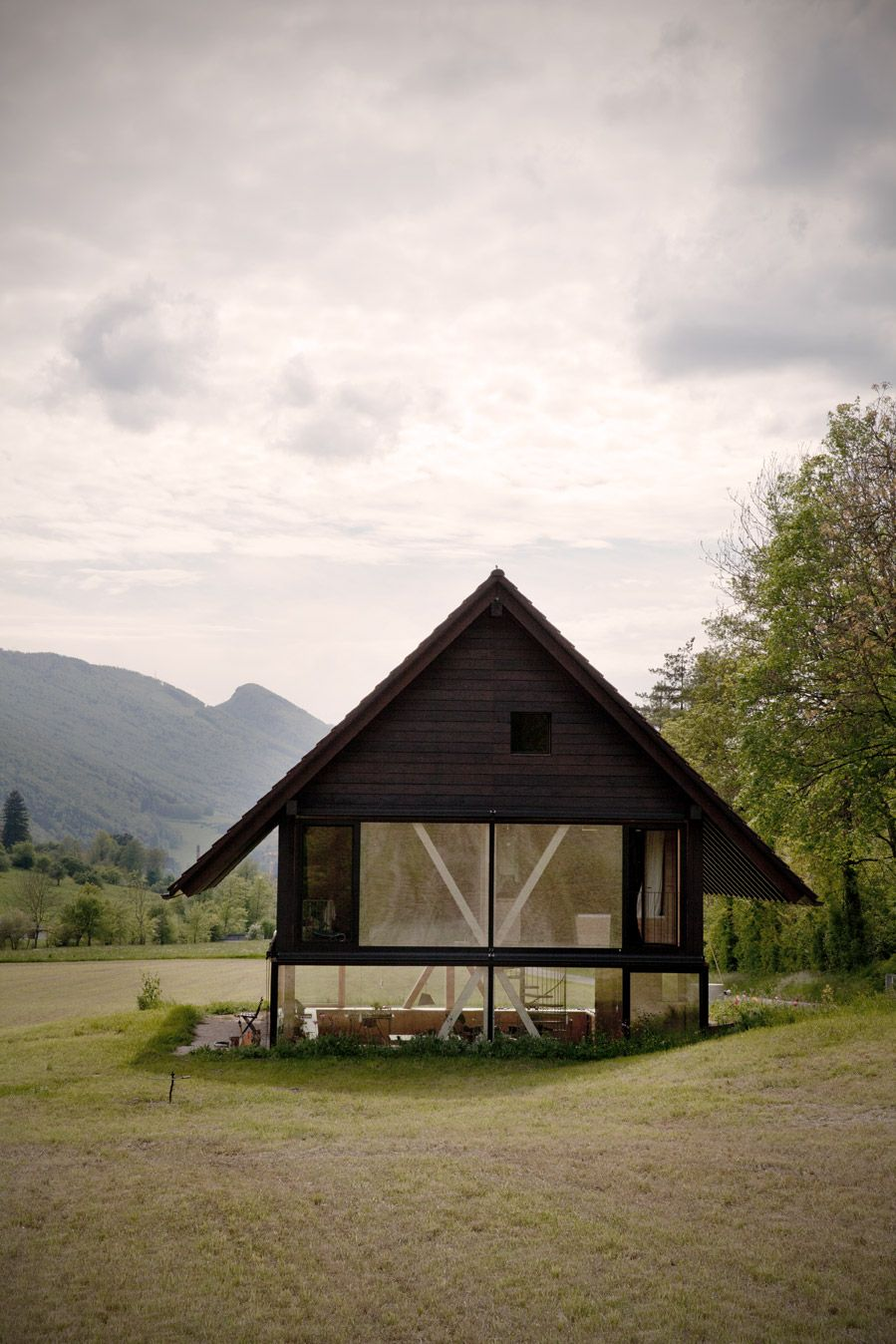 Swiss architect Pascal Flammers house on blog.tagesanzeige... photography: www.palanikumar.ch words: Marianne Kohler