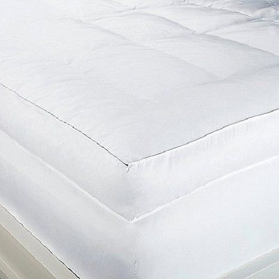 """Concierge Collection Plush 6"""" Soft Feather Bed Mattress Topper All Sizes"""