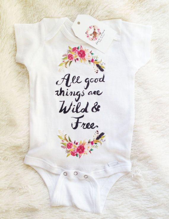 Boho Baby Bohemian Baby Baby Girl Clothes by