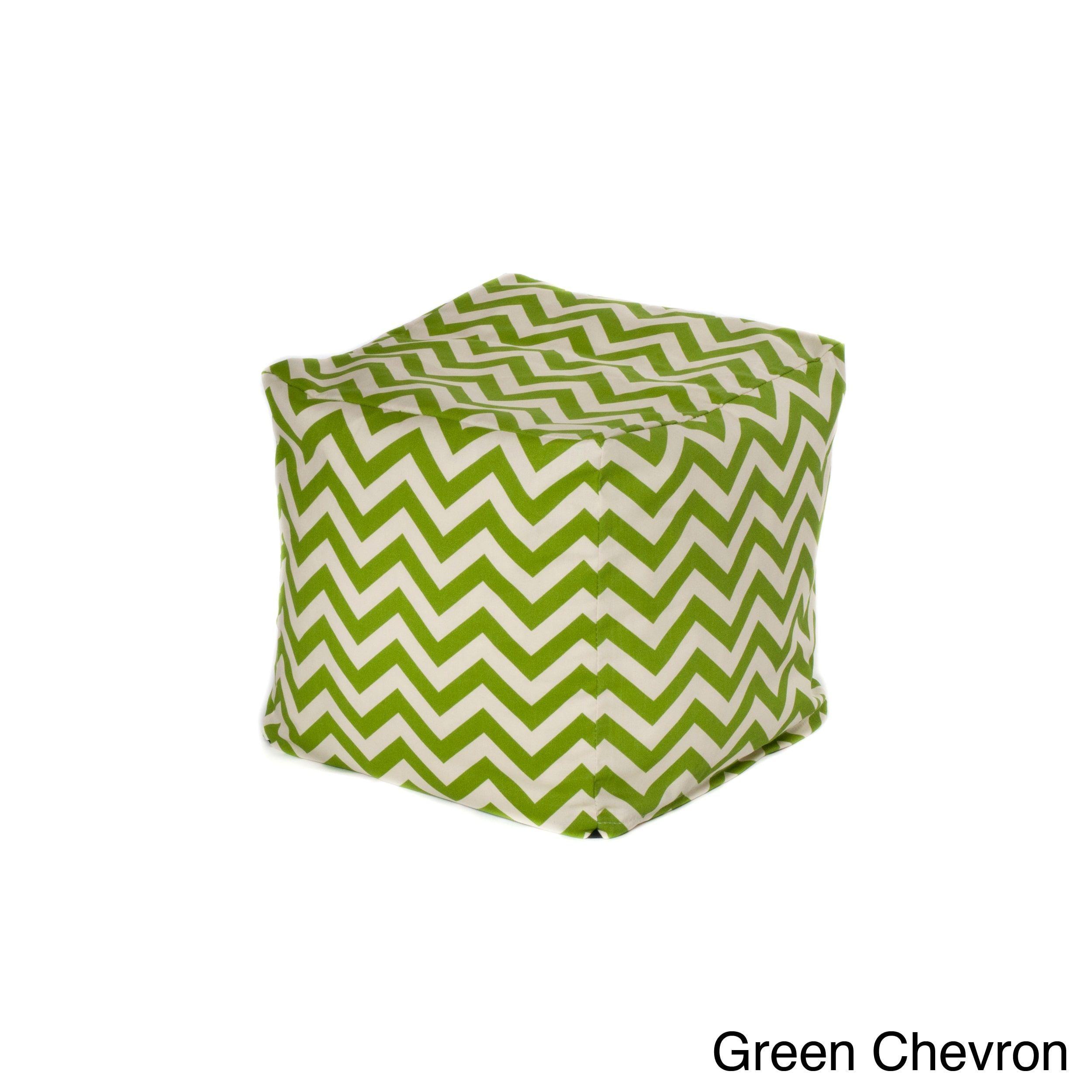 Sensational Chateau Designs Chevron Outdoor Beanbag Cube Yellow Patio Inzonedesignstudio Interior Chair Design Inzonedesignstudiocom